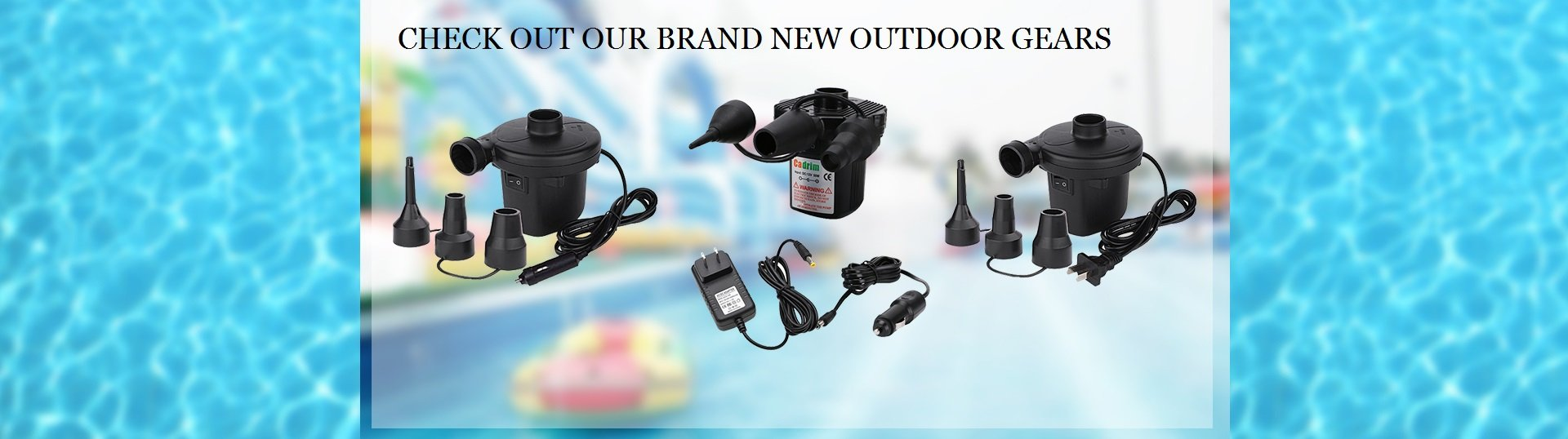 CHECK OUT OUR BRAND NEW OUTDOOR GEARS