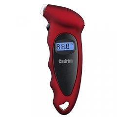 Cadrim Digital Tyre Pressure Gauge 150 PSI LCD Display, 4 Measurement Units for Cars, SUV, Trucks, Motorcycles and Bicycles